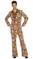 70's Groovy Retro Suit Bubbles (08993)